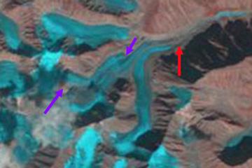sater glacier 1995
