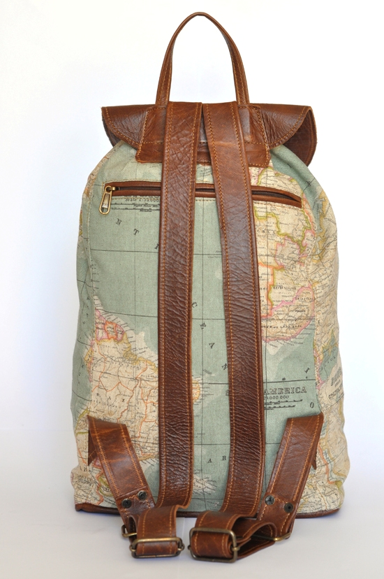 Map backpack. Picture from http://www.doubleedge.co.za/.