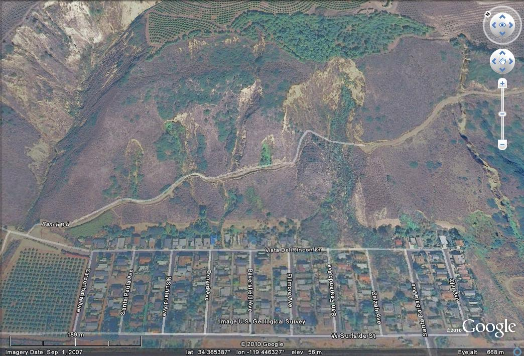 Has Stated That The Landslide Is Likely To Move Further The Google Earth Image Below Taken Before The Slide Yesterday Demonstrates Clearly Why There