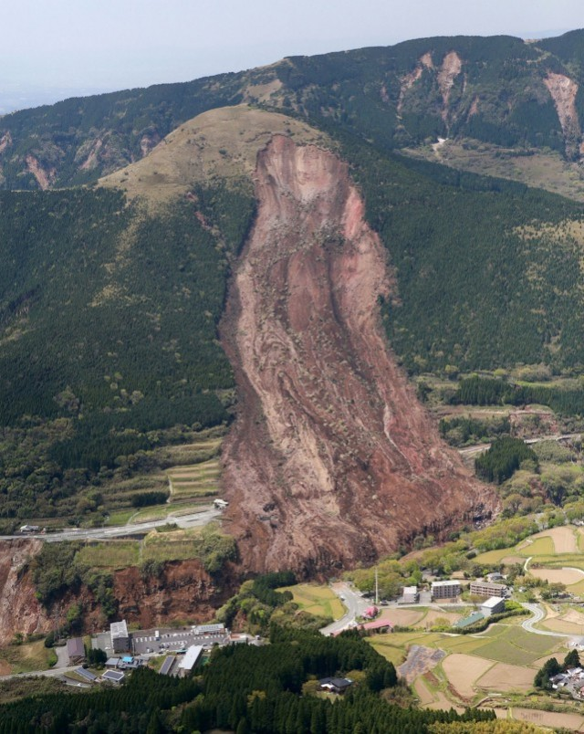 Landslides from the Kumamoto earthquake in Japan - The ...
