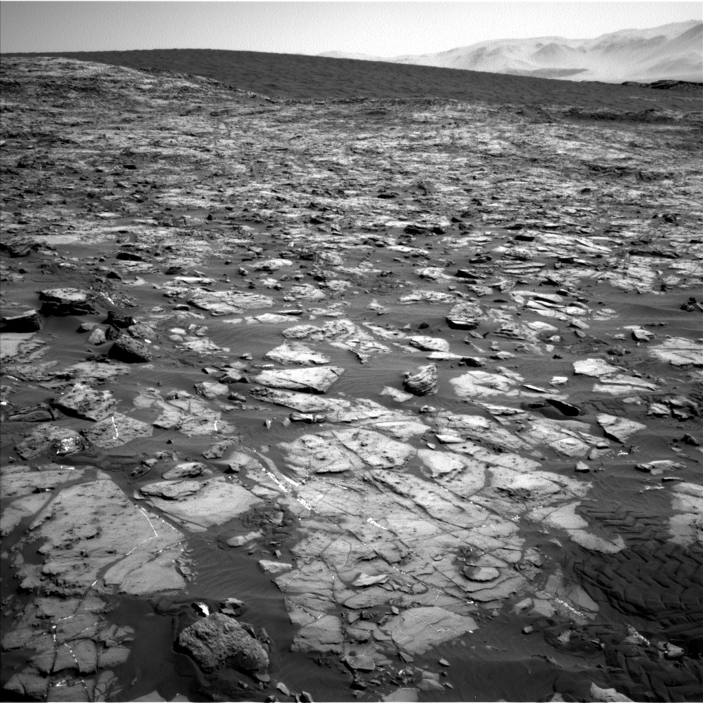 Sol 1243 Navcam contact science