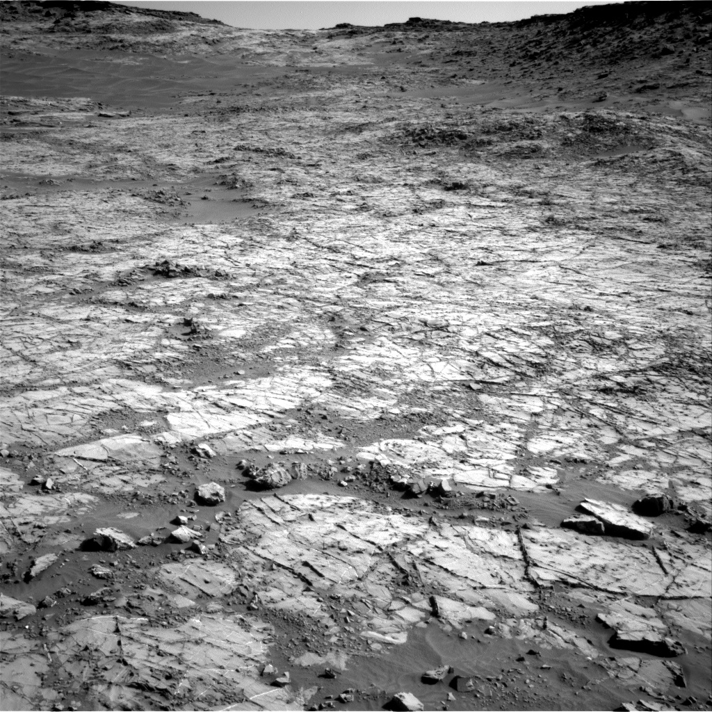 Sol 1267 Navcam Naukluft Plateau