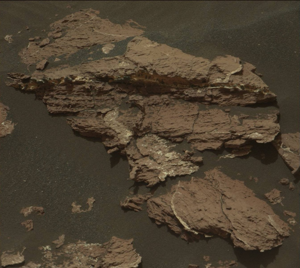 Mastcam image from sol 1550