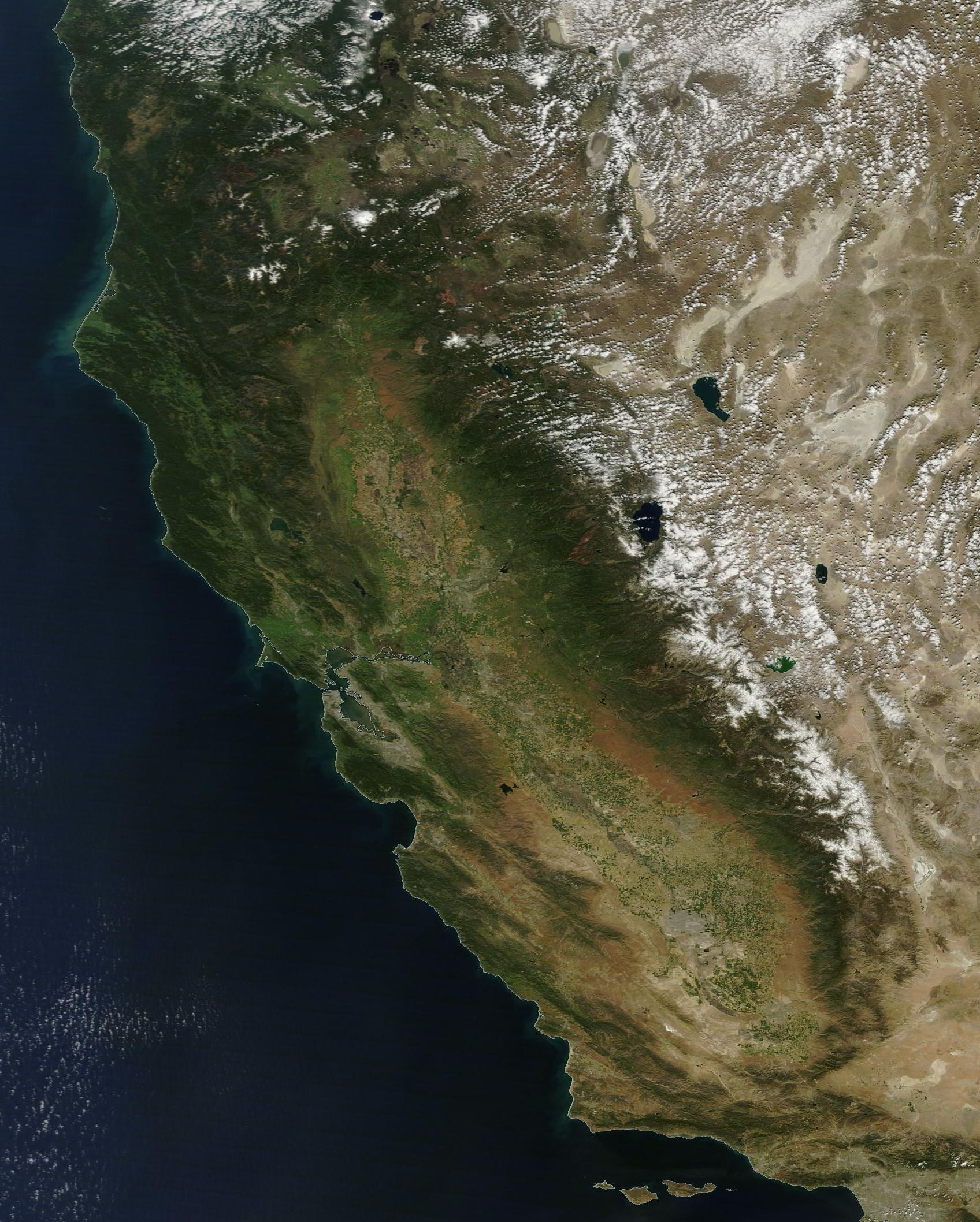 The California Drought from Space - Dan's Wild Wild ...