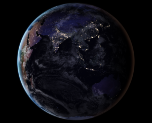 NASA Releases New Black Marble Image