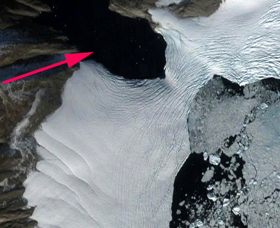 cape seddon crevasses