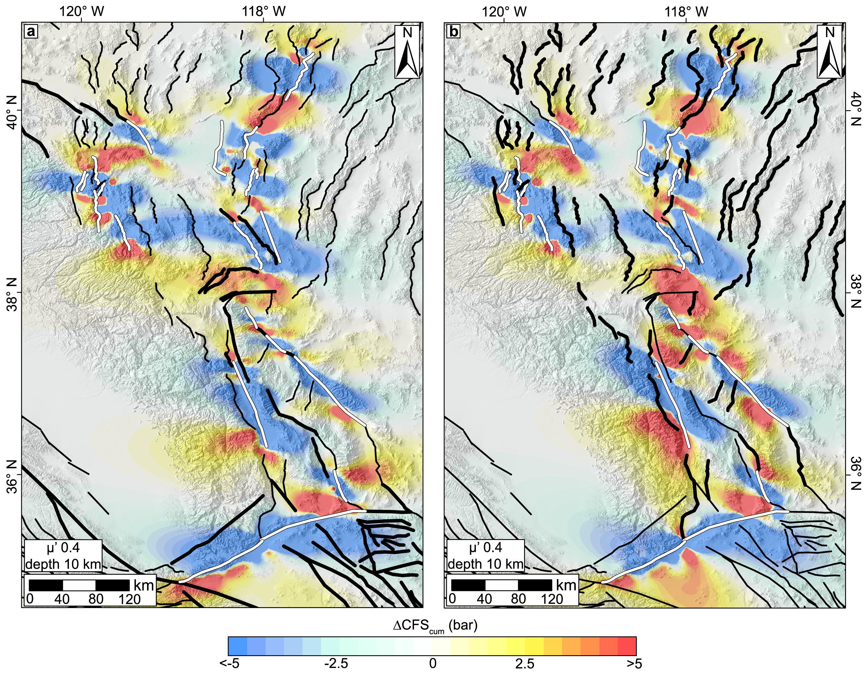 New Study Identifies Next Faults To Fail Along CaliforniaNevada - California fault map