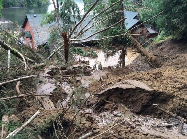 Florence landslide