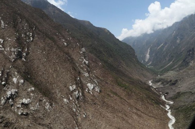 Langtang rock and ice avalanche