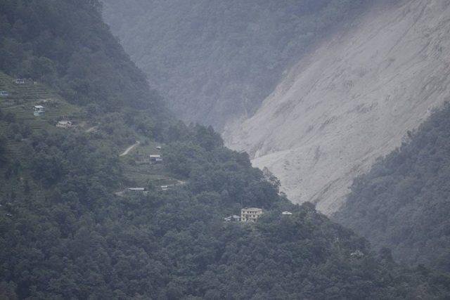 Dzongu landslide
