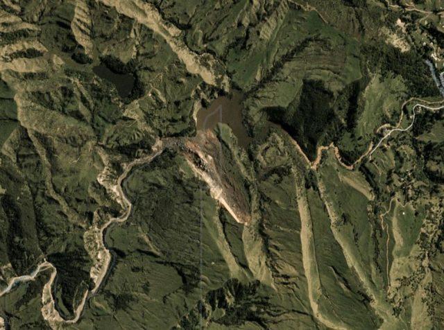Wairoa landslide