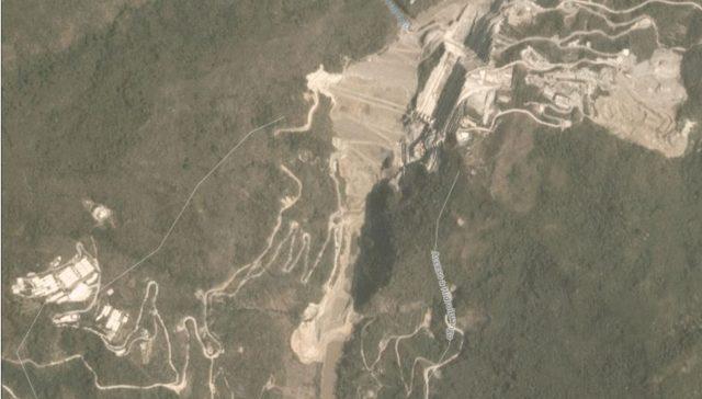 Hidroituango dam site