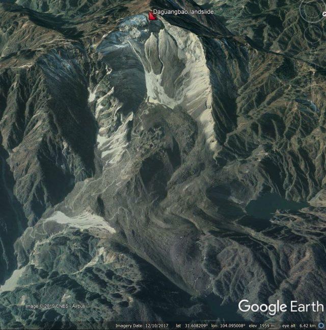 Daguangboa landslide