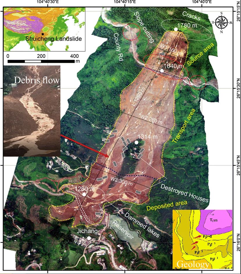 The 23 July 2019 Shuicheng County landslide: a first scientific report