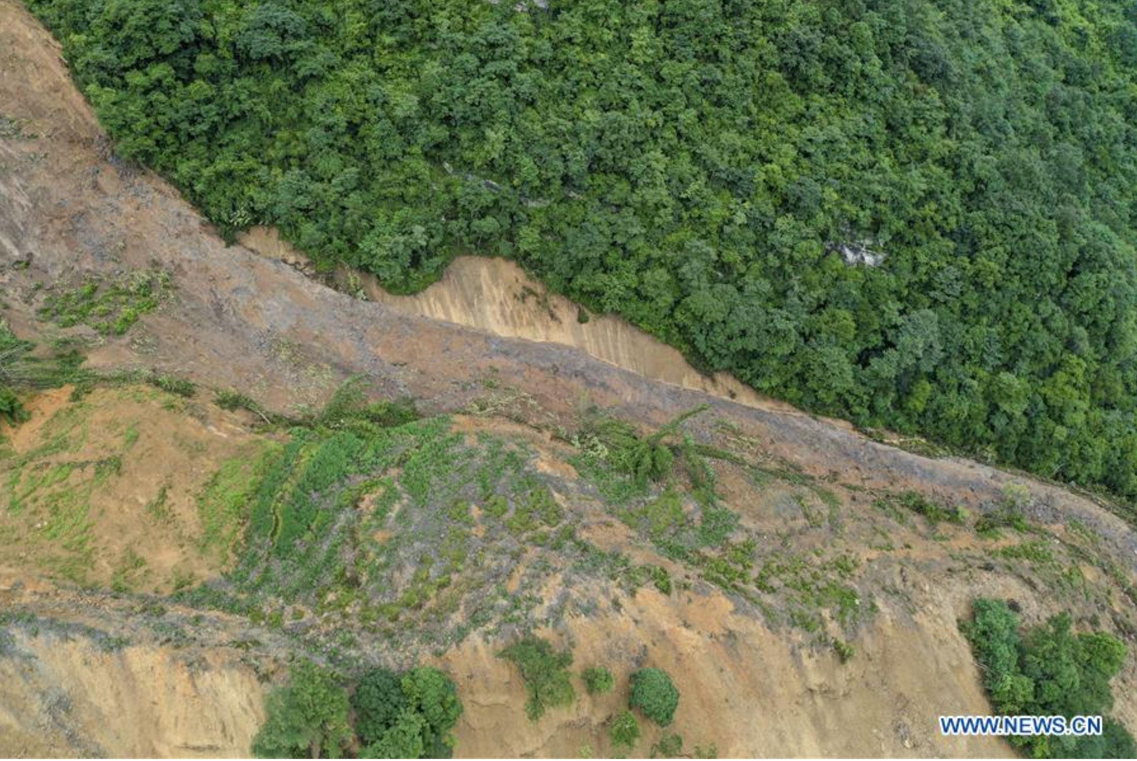 Liujing Village landslide