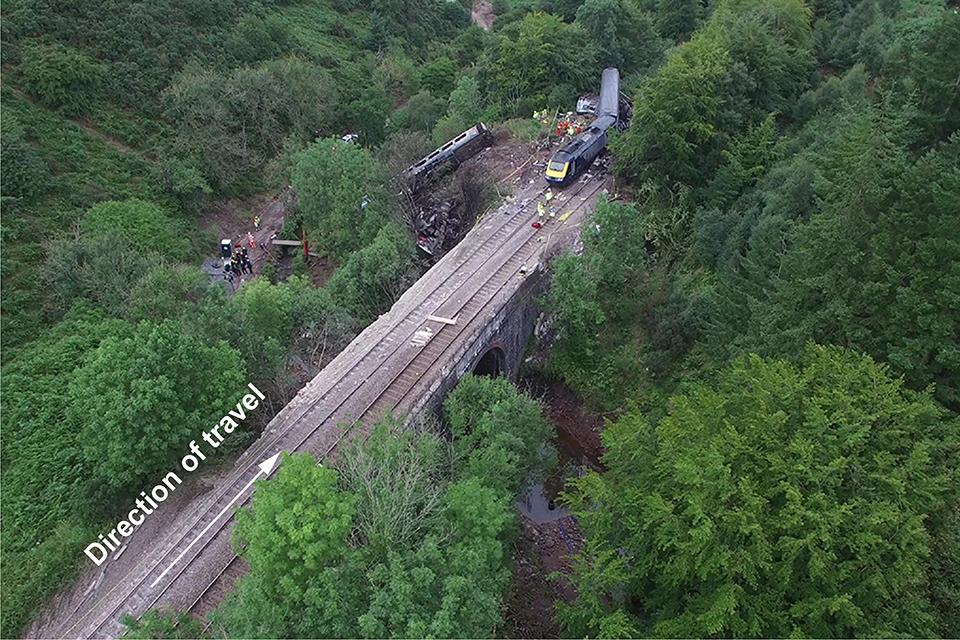 The Carmont train derailment