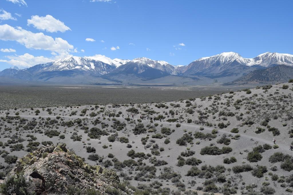 Part of Panum's tuff ring, mantled with juvenile eruptive deposits
