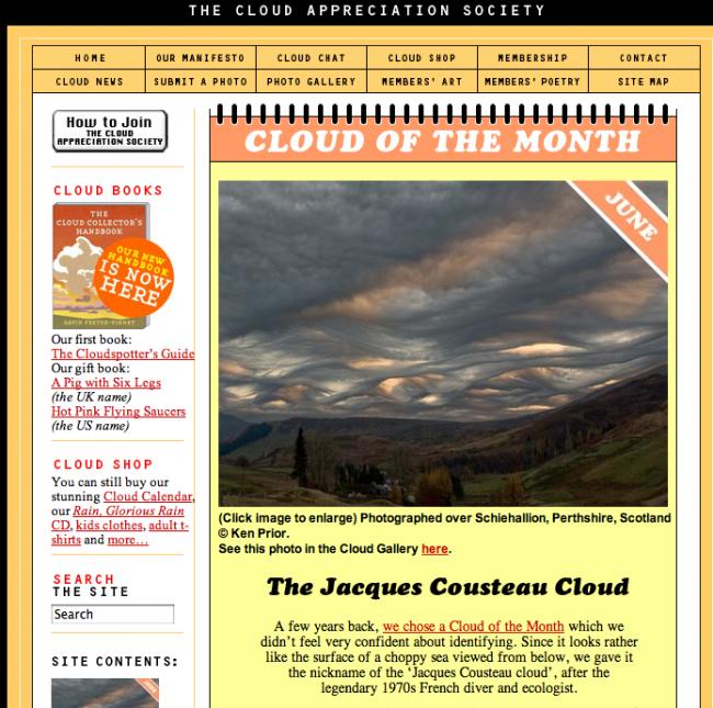 Asperatus? Is the cloud of the month at the Cloud App. Society.