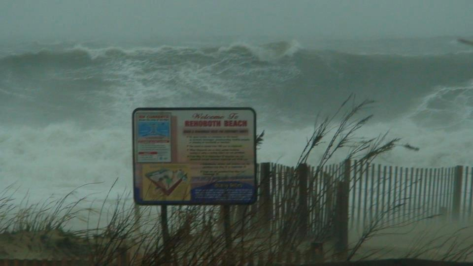 A Viewer Sent Me This Pic Of Waves Off Rehoboth Beach De