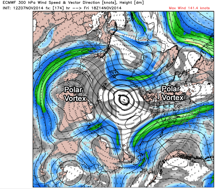From the ECMWF Model. Ctsy. Wx Bell.