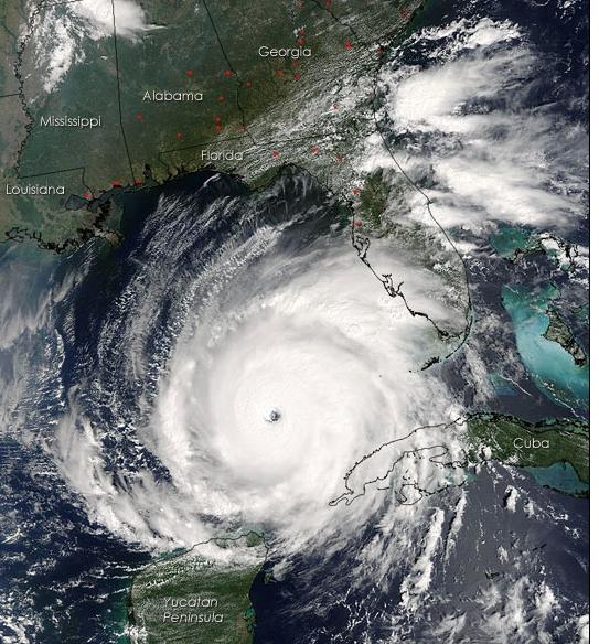 NASA image. Will we see a major hurricane on the U.S. coastline this year?