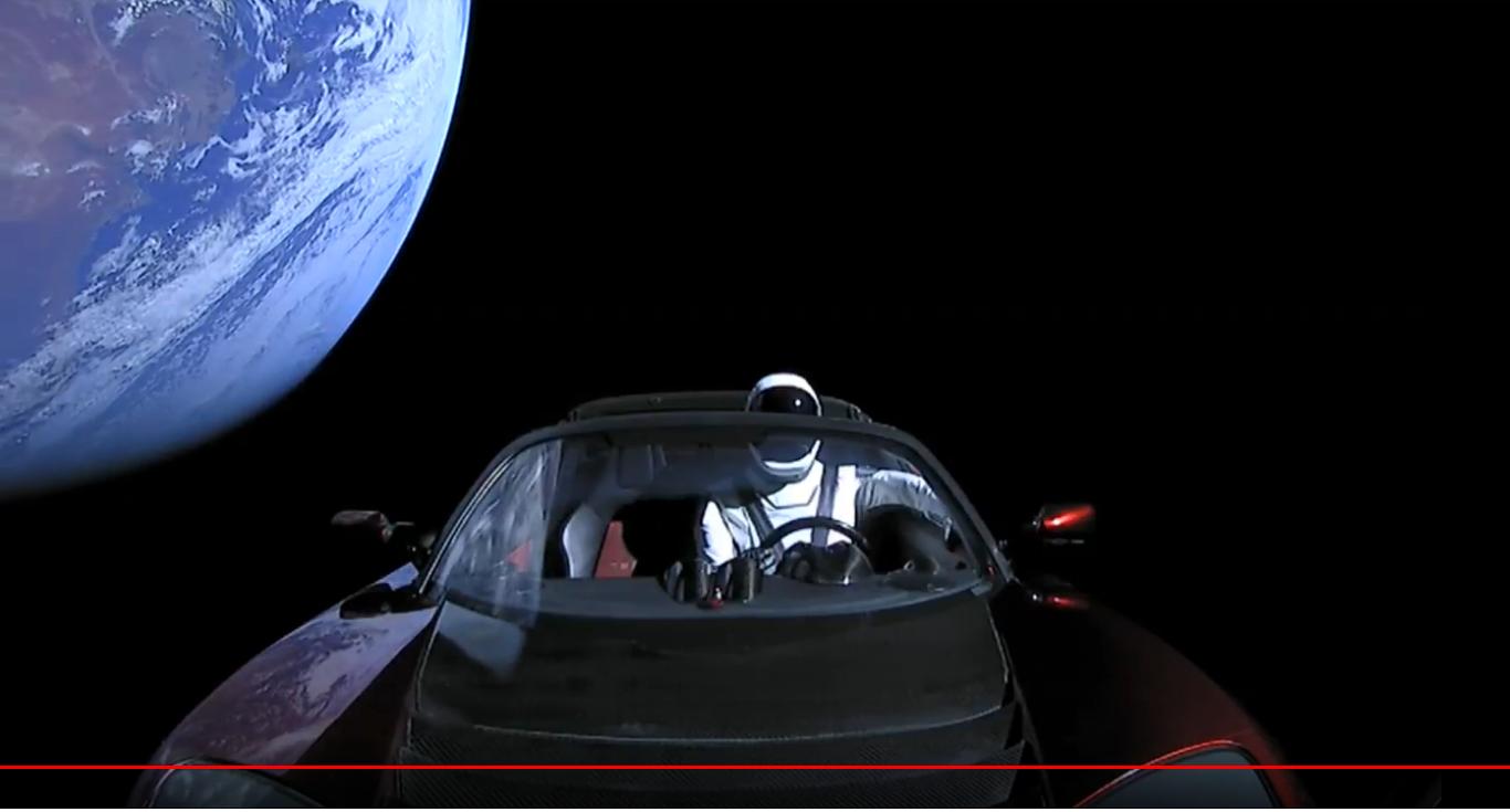 Nerds Rule, Tesla in Space! - Dan's Wild Wild Science ...